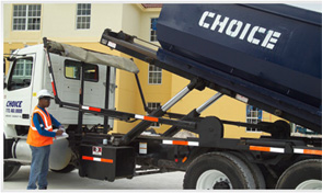 Choice Hauling Service provides award winning containerized garbage, trash, hauling and recycling services.