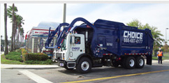 roll off dumpster rental waste hauling trucks